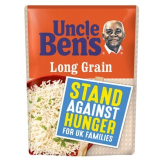 Uncle Bens Long Grain Microwave Rice 250g (Case of 6)