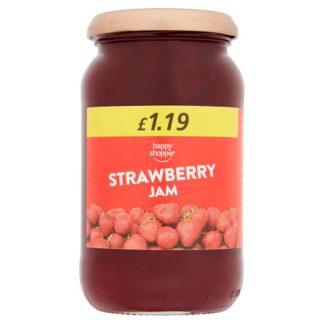 Happy Shopper Strawberry Jam 454g (Case of 6)