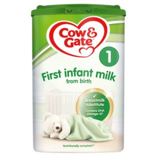 Cow & Gate 1 First Baby Milk Formula From Birth 800g