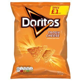 Doritos Tangy Cheese Tortilla Chips £1 PMP 70g (Case of 15)