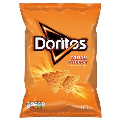 Doritos Tangy Cheese Sharing Tortilla Chips 180g (Case of 12)