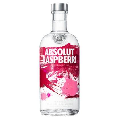 Absolut Raspberri Flavoured Vodka 70cl (Case of 6)