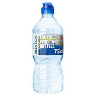 Buxton Still Natural Mineral Water Sports Cap 750ml (Case of 15)
