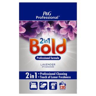 Bold 2in1 Professional Powder Detergent Lavender & Camomile 8kg 130 Washes